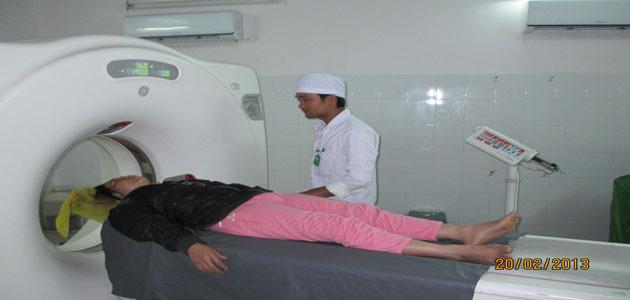 Chụp CT Scanner