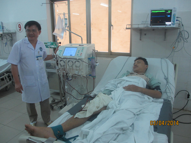 Lọc máu liên tục tại bệnh viện Phú Yên